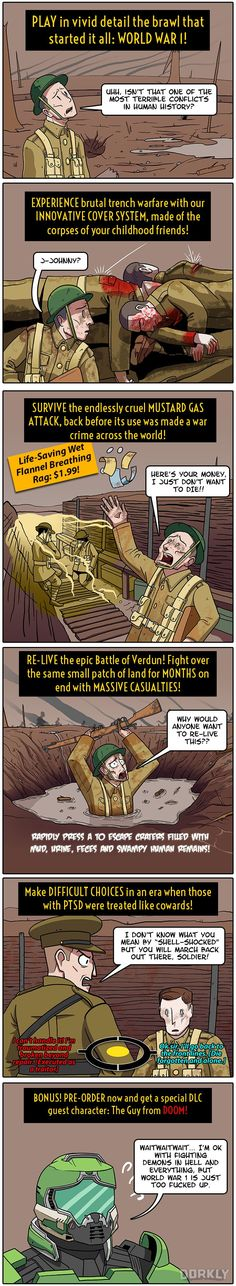 If Battlefield 1 Was Historically Accurate to WWI