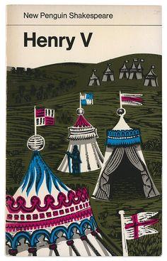 Maraid Design - Blog David Gentleman's illustrations for New Penguin Shakespeare books