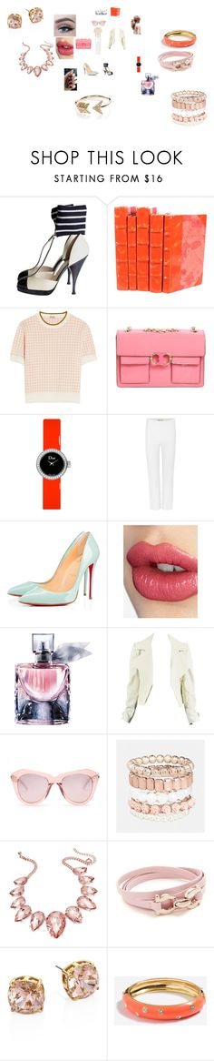 """""""City Slickers: Patent Leather"""" by annali1983 ❤ liked on Polyvore featuring Chanel, Miu Miu, Tory Burch, Christian Dior, By Malene Birger, Christian Louboutin, Charlotte Tilbury, Lancôme, Karen Walker and Avenue"""