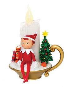 Take a look at this Elf on Shelf LED Candle Figurine by Roman, Inc. on #zulily today! ishope4u2@aol.com
