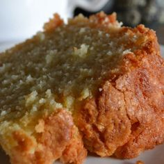 |Um....Almond-Vanilla Pound Cake|#cake #recipe #foodie #foodblogger link in comments