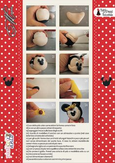 STEP BY STEP MINNIE CAKE PART N°3