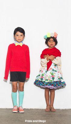 Frida and Diego Rivera Costume   American Apparel