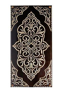 Stencil Patterns, Stencil Designs, Pattern Art, Embroidery Patterns, Pattern Design, Motifs Islamiques, Stencils, Motif Art Deco, Sgraffito