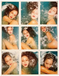 Blue Water Series: Pat Cleveland, Paris, 1975  Photos by Antonio Lopez