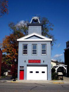 Blue Firehouse Madison, Indiana  #IndianaMustSee