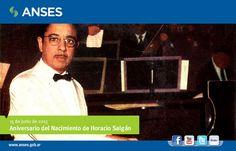 15 de junio. Aniversario del nacimiento de Horacio Salgán