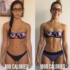 Let's just preface this by saying no, I did not have an ED. When I was eating 800 calories a day, I thought I was healthy. I was eating healthy food, but hardly any macronutrients. I was curious to find out what my macros were like before I actually started counting my macros, so I entered my old foods into @myfitnesspal to find out. I was quiet astonished to see how little protein and carbs I was eating. 800 calories seems absurdly low as now I need minimum 1500 calories to be full, but at…