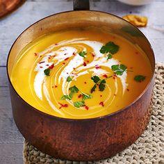 Clean Recipes, Healthy Dinner Recipes, Soup Recipes, Cooking Recipes, Cup Of Soup, Bowl Of Soup, Pumpkin Soup, Pumpkin Recipes, All U Can Eat