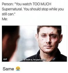 Funny Supernatural Posts That Remind You It's The Best Show Ever (Episode Funniest Supernatural Episodes, Sammy Supernatural, Supernatural Imagines, Supernatural Wallpaper, Supernatural Tattoo, Castiel, Supernatural Fanfiction, Supernatural Bloopers, Supernatural Pictures
