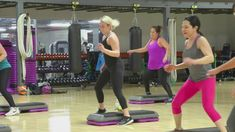 Cathe Friedrich's Advanced Step Choreography  Live Workout Workout Videos, Workouts, Cathe Friedrich, Step Aerobics, Challenges, Exercise, Gym, Live, Fitness