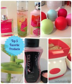 Lady Marielle  Top 5 Favorite Products