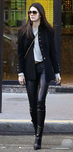 #Kendall Jenner, #Street Style- Source image: dailymail.uk