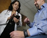 Hospitals team up with phone app