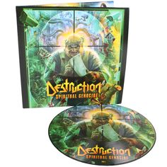 DESTRUCTION | Spiritual Genocide PIC DISC VINYL (Import) - Nuclear ... Destruction, Spirituality, Beautiful, Color, Art, Art Background, Colour, Kunst, Spiritual