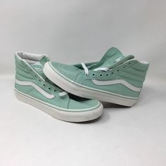 ae03182f117fd0 VANS AUTHENTIC SK8 HI SLIM GREEN SNEAKERS MEN S SIZE 7.5 WOMEN S SIZE 9.0  NWOB  fashion  clothing  shoes  accessories  unisexclothingshoesaccs ...