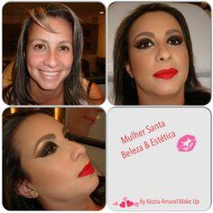 Make Festa.... Bocão & Olhão, by Kézzia Amaral Make Up