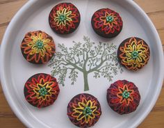 Embroidered Buttons | Flickr - Photo Sharing!