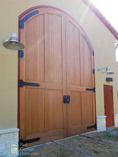 Big Doors by Real Carriage Door Company Big Doors, Entry Doors, Entrance, Custom Garage Doors, Custom Garages, Garage House, My House, Carriage Doors, Mobile Home