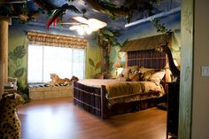 jungle theme room