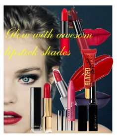 """""""Amazing lipstick shades"""" by laveliq ❤ liked on Polyvore featuring beauty, Burberry, Jeffree Star, LASplash, Rimmel, Clinique and Witchery"""