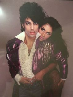 prince + vanity    OMG!!!!  U 2 Looked soooooooo Good 2-gether.  =D