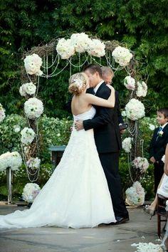 Branch wedding arch