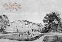 Наполеон Орда. Палац Потоцьких в Антонінах