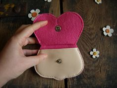 cute pink rabbit purse easter bunny pouch in blush pink