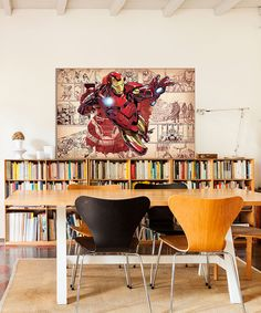 Iron Man Comic Panel Gallery-Wrapped Canvas by Iron Man #zulily #zulilyfinds