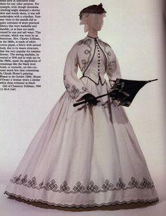 1862 - robe avec boléro Victoria et Elizabeth