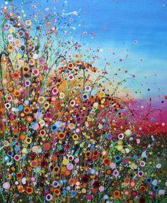 bloemen-schilderij