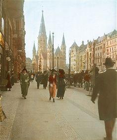 Berlin 1910 Neue Mode fuer Neue Frauen in der Tauentzienstrasse