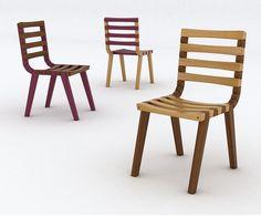 Cadeira Trapeziu / Trapeziu Chair. Design by Gustavo Bittencourt - 2009