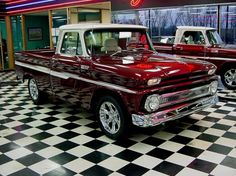 AutoTrader Classics - 1965 Chevrolet C10 Truck Burgundy 8 Cylinder Automatic 2 wheel drive | Classic Trucks | Bonner Springs, KS
