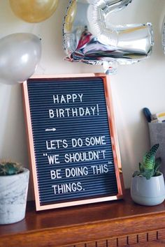 birthday ideas: birthday party ideas for him and her! – MONTHSARY – Birthday Ideas – Grandcrafter – DIY Christmas Ideas ♥ Homes Decoration Ideas 25th Birthday Ideas For Her, 21st Bday Ideas, 25th Birthday Parties, Happy Birthday Fun, Happy Birthday Images, Birthday Pictures, Birthday Month, 21st Birthday Themes, Cake Birthday