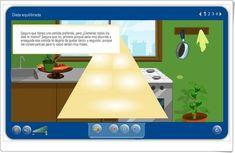 """""""Dieta equilibrada"""" (Aplicación interactiva de Ciencias Naturales de Primaria)"""