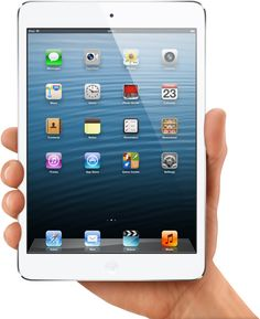 Rumour has it Apple have a new mini iPad out... anyone else heard this rumour? haha... Posting it, because I LOVE IT.