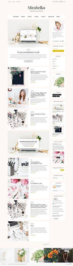 szablony na bloggera blogspot nowy blog template