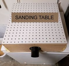 No one wants a dusty workshop. Keep it clean with a DIY sanding table. No one wants a dusty workshop. Keep it clean with a DIY sanding table. The post No one wants a dusty workshop. Keep it clean with a DIY sanding table. appeared first on Home. Small Woodworking Projects, Woodworking Workshop, Popular Woodworking, Woodworking Furniture, Fine Woodworking, Diy Wood Projects, Woodworking Crafts, Woodworking Classes, Woodworking Articles