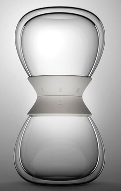 """You will love the following tea set called """"Tea-time"""". Designer Pengtao Yu created simple but yet convinient set combining of tea leaves, water and steeping time! You put tea leaf and hot water into first part of """"Tea-time"""", twist the timer to set the steeping time and the ready tea slowly trickles down to the …"""