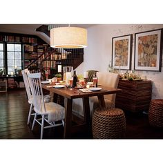 """Taverna 78"""" Dining Table in Snowed 