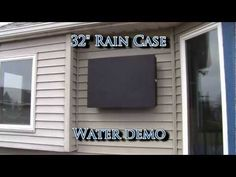 Rain Case Water Demo - Took a licking and kept on ticking!