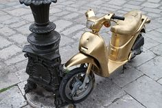Golden Moped  #Palermo