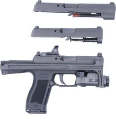 B&T USW320 Universal Service Weapon Upgrade for SIG Sauer P320 - The Firearm BlogThe Firearm Blog