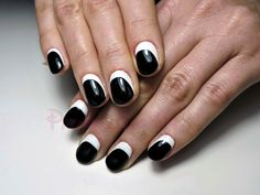 black&white gelpolish
