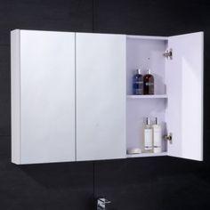 Ora Double Door Illuminated Mirror Cabinet Product Code
