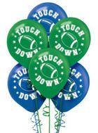Football Balloons 6ct