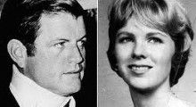 """In 1969 Ted Kennedy let Mary Jo Kopechne die in the back seat of his car, driving drunk, expired driver's license,  left the scene of the accident, did not report the accident for hours,   then give a speech at the Democratic convention in 1988 on """"public morals"""".   I remember this well..."""