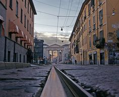 Tram Track, Milano Via XXIVMaggio   Flickr –